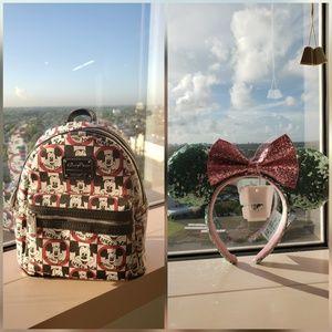 DISNEY BUNDLE! Backpack and Ears